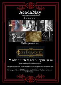 AcadaMay Madrid event