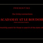 AcdaMay at Le Boudoir