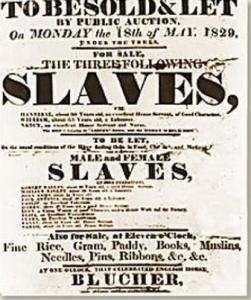 AcadaMay slave auction